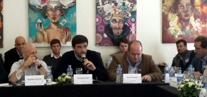 Galli participó del Foro de Intendentes de Cambiemos en Carhué, con eje en seguridad