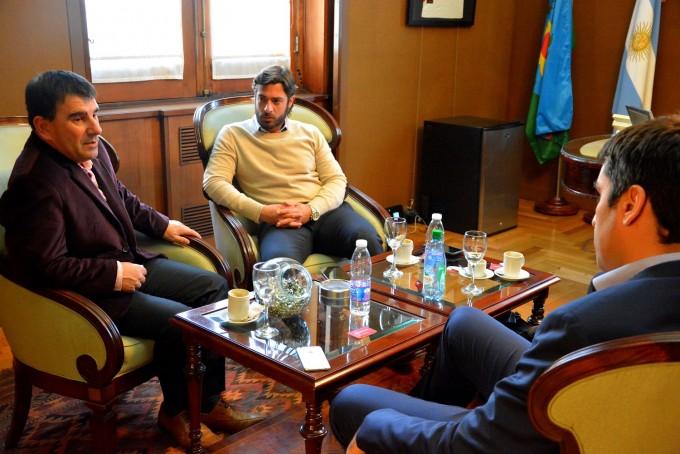 Azul: el intendente se reunió con el ministro de Gobierno  Federico Salvai