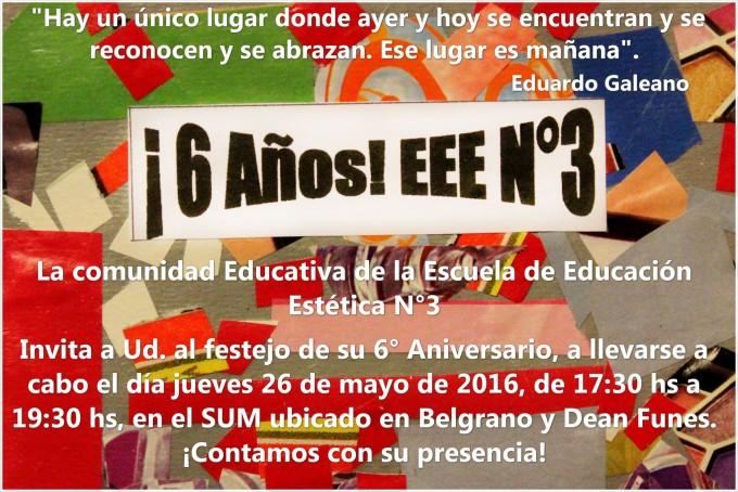 La Escuela de Educación Estética festeja su sexto aniversario