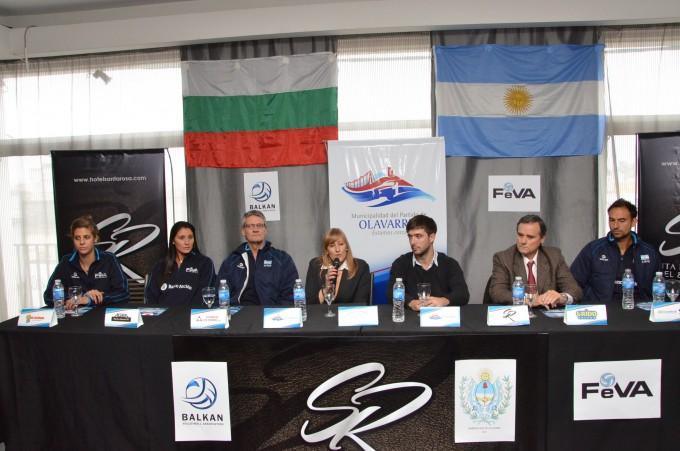 Vóleibol: Las Panteras vs. Bulgaria se jugará a las 20 hs.