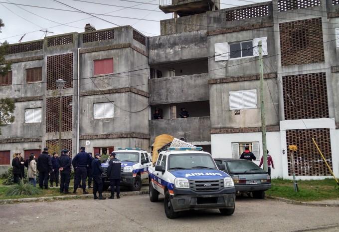 Quedaron 9 detenidos tras el operativo en Barrio Independencia