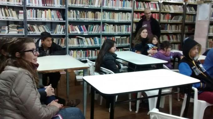 Actividad de la biblioteca del CIC Facundo Quiroga