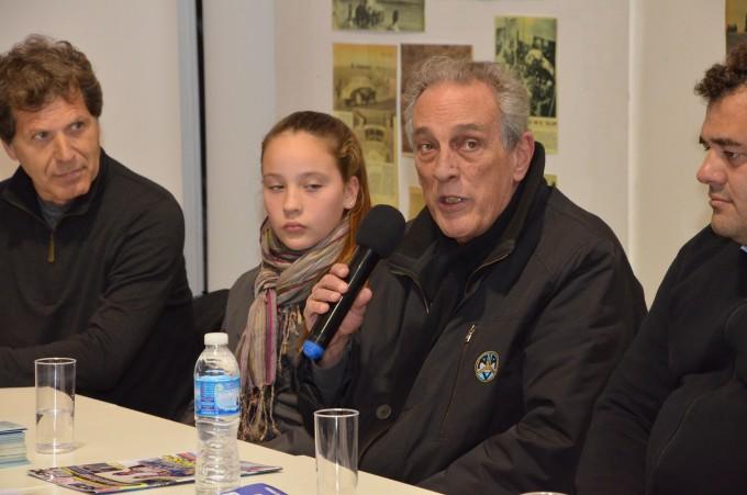Se presentó la competencia de karting con Juan María Traverso