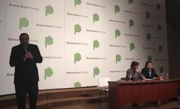 El intendente Galli en la presentación del Plan de Gestión Ambiental provincial