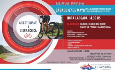 Cicloturismo a Sierra Chica