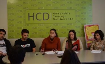 Boleto Estudiantil gratuito: estudiantes presentaron proyecto en el Concejo Deliberante