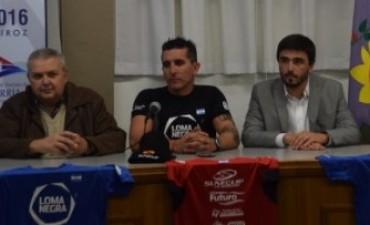 Loma Negra apoya a Lucas Díaz Aspiroz
