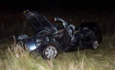 Grave accidente en el enlace Néstor Kirchner
