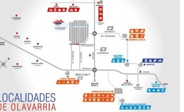 Nuevos mapas de Sierras Bayas y Colonia San Miguel