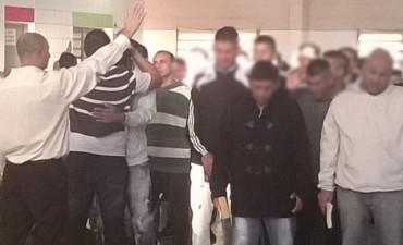 11 internos fueron bautizados en la Unidad N° 38