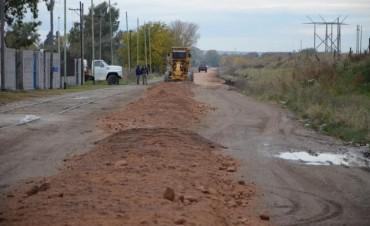 El Municipio continúa con trabajos de mantenimiento de calles