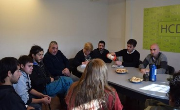 El Concejo Deliberante recibió a la Mutual de Arte Los Sikuris