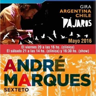 André Marques Sexteto llega a Olavarría
