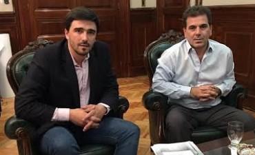 El Intendente Galli se reunió con el Ministro de Seguridad de la Provincia