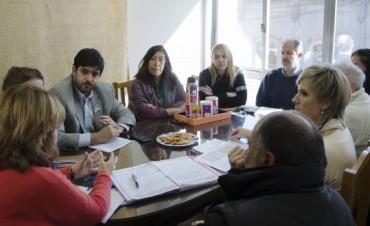 Infraestructura escolar: reunión del Ejecutivo con Consejeros Escolares