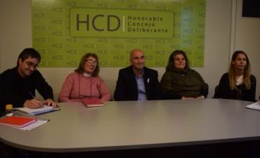 El Concejo Deliberante recibió a fomentistas