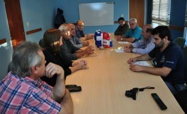 Ezequiel Galli se reunió con referentes del sector minero para evaluar la situación de pequeñas caleras