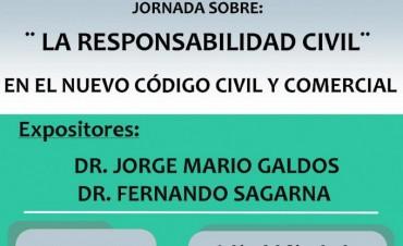 Se realizará una Jornada sobre Responsabilidad Civil