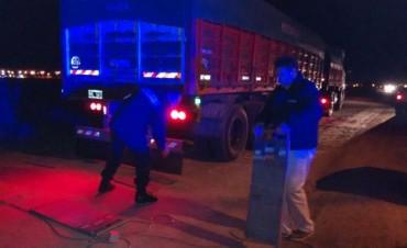 Se detectó un camión con más de 27 mil kilos de sobrecarga
