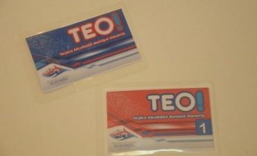 TEO: entregan boletos para el mes de junio