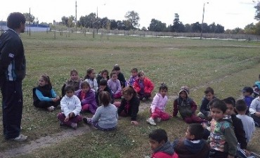 """Los chicos del Centro de Día Nº 2 tuvieron """"Un día en la naturaleza"""""""