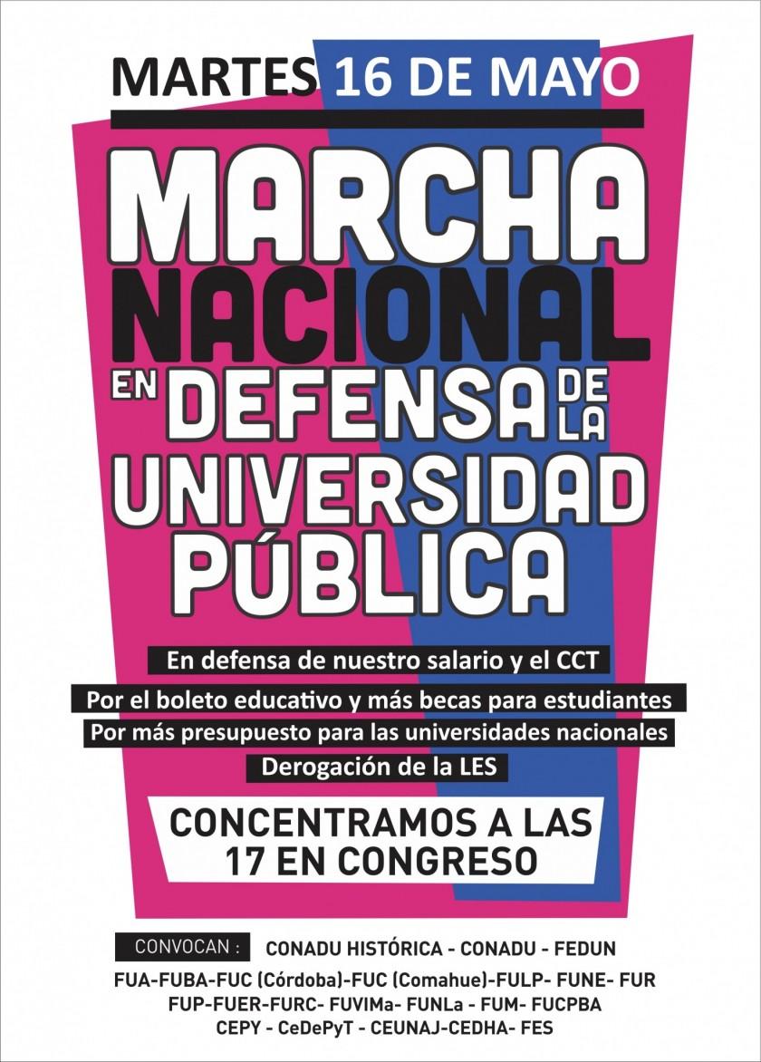 Marcha de Universitarios