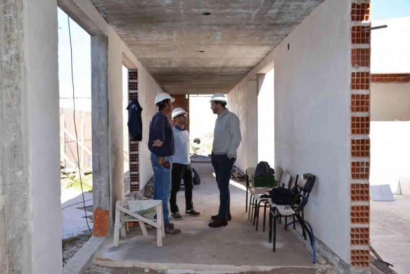 Comenzó la obra ampliación de la Escuela Nº 24