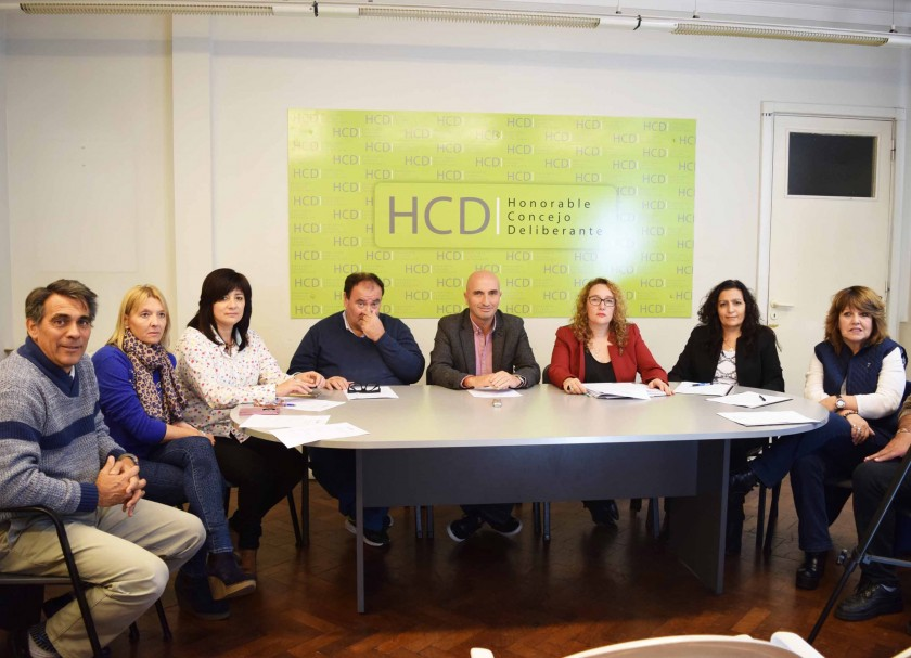 Se presentó la nueva edición del Concejo Deliberante Estudiantil