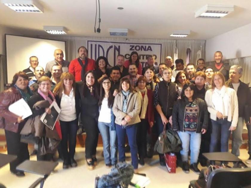 Encuentro de delegados municipales de UPCN en Saladillo