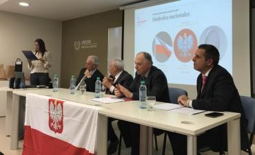Cooperación internacional: reunión con el embajador de Polonia