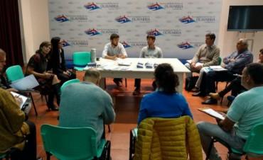 Reunión de los delegados con Cenizo