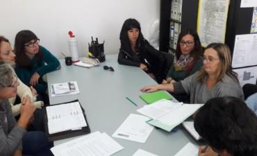 El Frente Ni una Menos se reunió con la Comisión de Educación del HCD