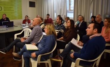 Tucura: el Concejo Deliberante recibió a la Comisión de Lucha Contra las Plagas