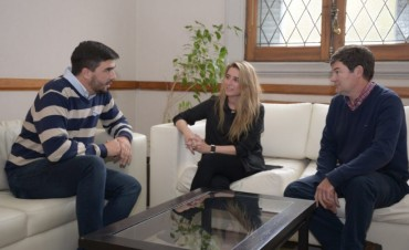 Ezequiel Galli se reunió con autoridades del PAMI