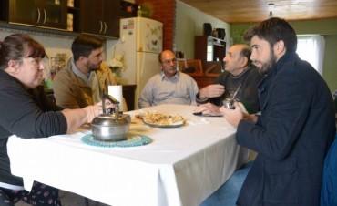 Ezequiel Galli y su equipo en Luz y Fuerza y Provincias Argentinas