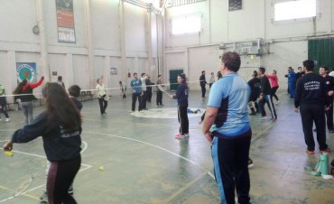 Capacitación en Badminton
