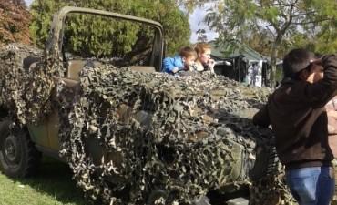 Día del Ejército : realizaron actividades en el predio de la Casa del Bicentenario