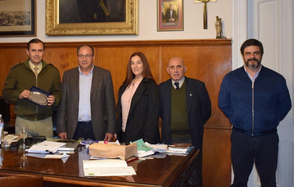 Alvear: Gestiones para la llegada del Regimiento de Granaderos y de Patricios en los festejos del 150º Aniversario de la localidad