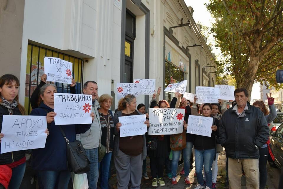 La agrupación Tierra, Techo y Trabajo reclamó a la Oficina de Empleo Municipal