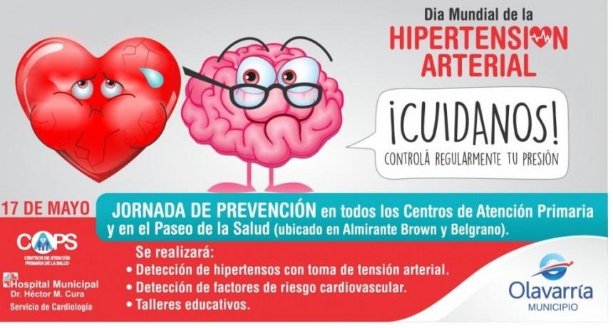 Campaña de salud por el Día Mundial de la Hipertensión Arterial