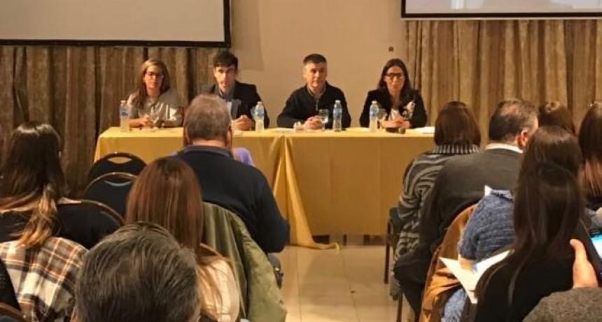Walter Martello expuso en Congreso de Discapacidad de Tandil