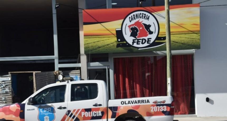 Secuestran carne en carnicería de Avenida Pellegrini