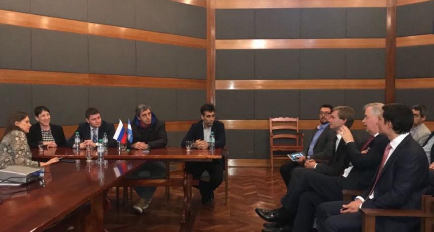 Encuentro bilateral entre representantes comerciales rusos y autoridades de municipios bonaerenses