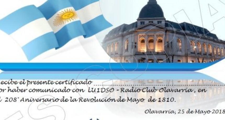 Integrantes del Radio Club realizan una 'Entrega de Certificados' este viernes 25