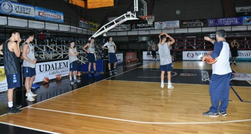 Básquet: la Selección Argentina U18 se prepara en Olavarría