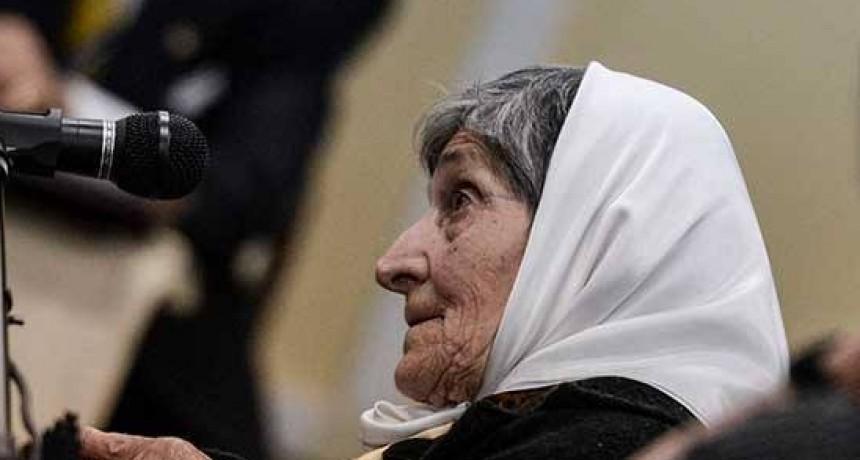 Falleció una Madre de Plaza de Mayo de un desaparecido olavarriense