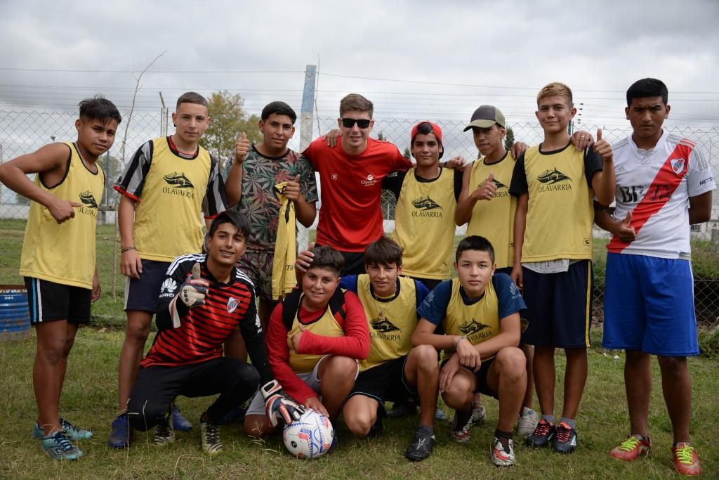 Con los partidos Sub16 todas las categorías ya jugaron el Torneo Interbarrial