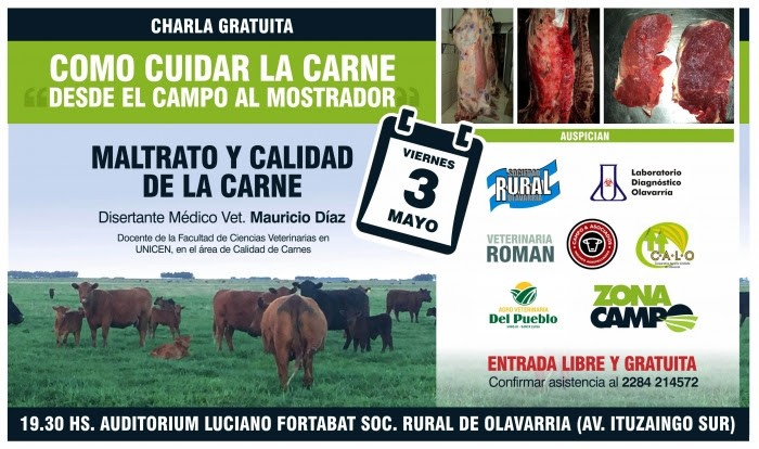 Jornada sobre cuidado de la calidad de la carne