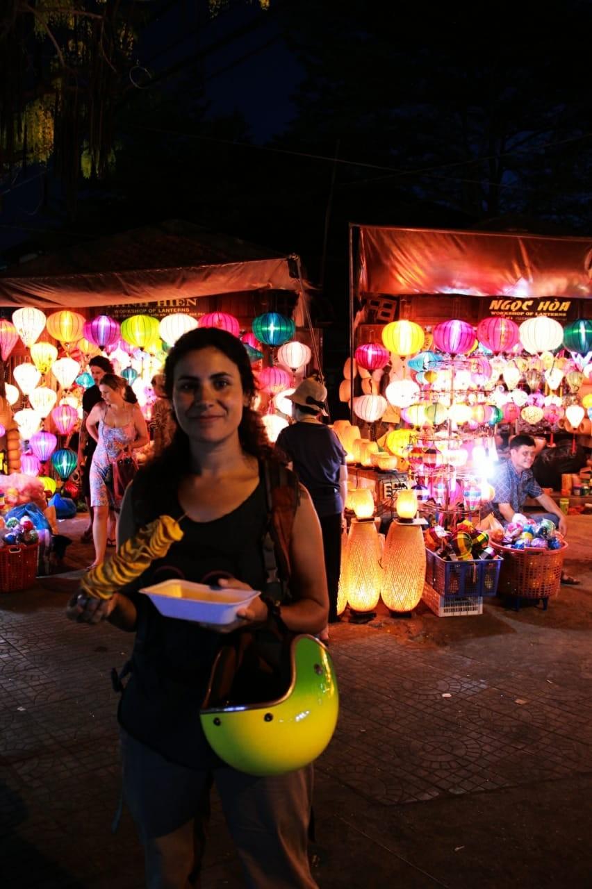 Carla Laguardia: 'viajar es una escuela de vida'