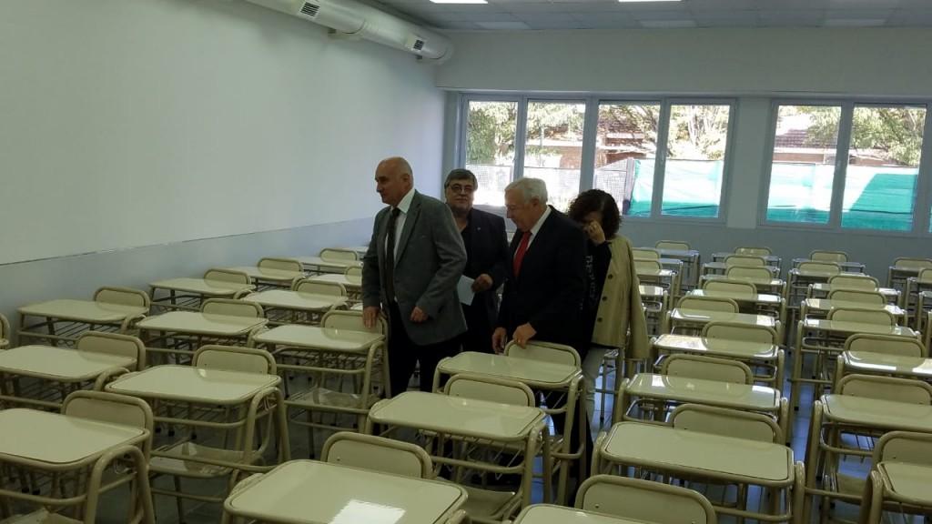 Ciencias de la Salud inauguró dos aulas